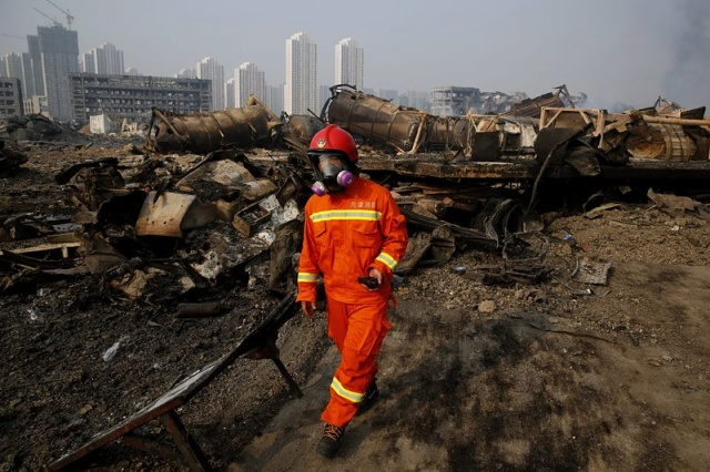 Bulgaria: China Orders Evacuation in Tianjin Over Fears of Sodium Cyanide