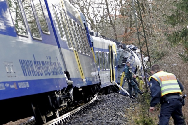 Bulgaria: Train Crash in Germany Leaves at Least Several Dead