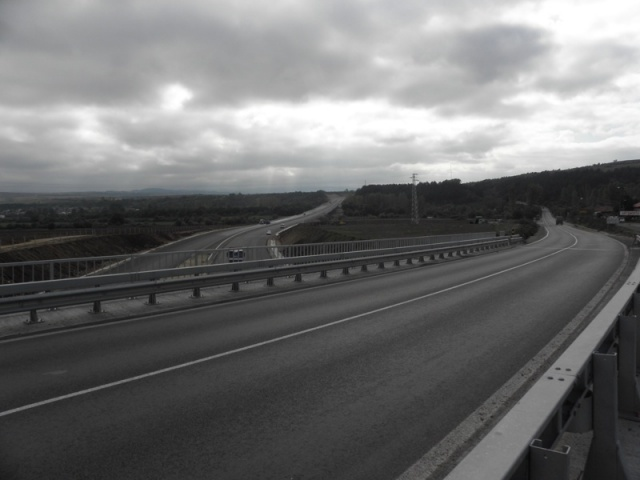 Lot 2 of Struma motorway. Photo: BGNES