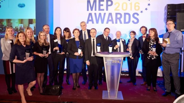 Bulgaria: Two Bulgarians Recognised at 2016 MEP Awards