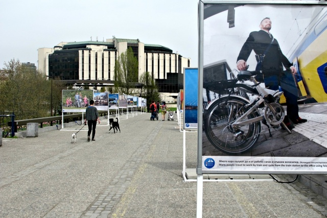 Bulgaria: Netherlands on Bike Exhibition Unveiled in Central Sofia
