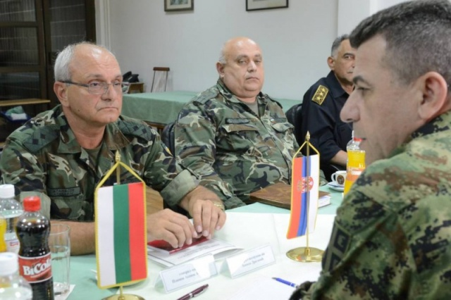 Bulgaria: Bulgarian, Serbian Military Discuss Progress in Joint Action against Irregular Migration