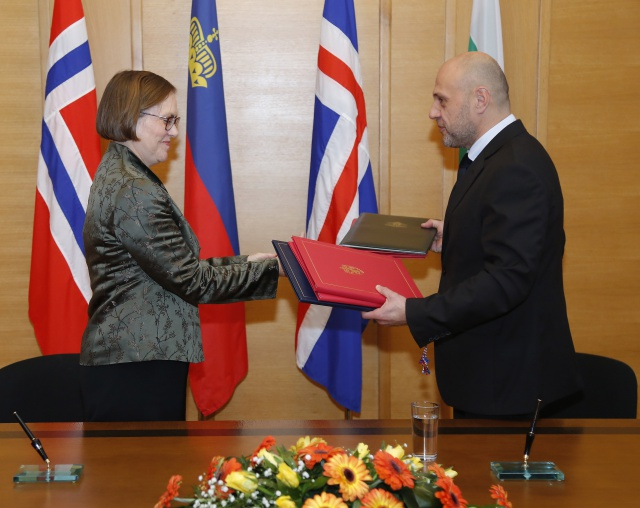 Bulgaria: Bulgaria Signs EUR 210 M Agreements with EEA Countries