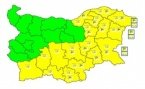 Code Yellow in Most of Bulgaria over Snow, Road Ice