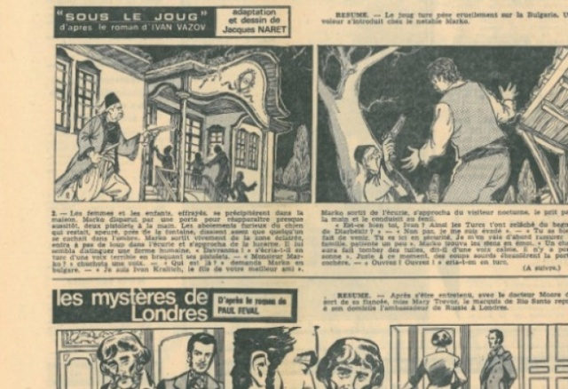 Bulgaria: French Comic Book Based on Classic Bulgarian Novel to Receive Copyright