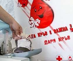Bulgaria: Тhe Spring Campaign for Voluntary Blood Donation 'Give Life Now!' Continues