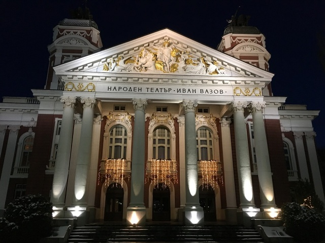 Bulgaria: National Theater ''Ivan Vazov'' To Be Renovated