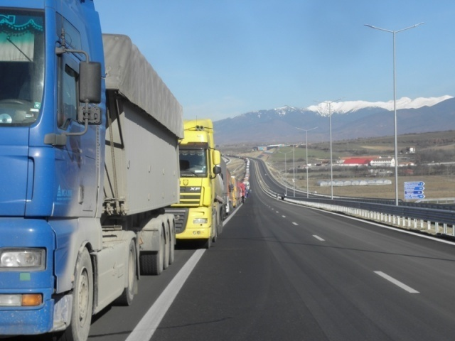 Bulgaria: Transport Workers Gather at Kulata Checkpoint to Protest, No Border Blockade