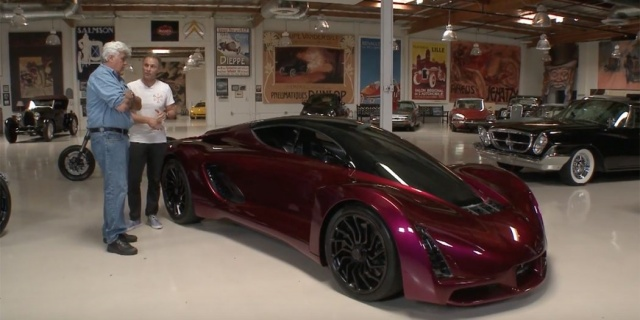Jay Leno Raced a 3D Printed Car Through the Streets of L A