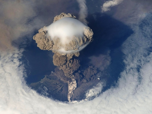 Bulgaria: Kamchatka Volcano Klyuchevskaya Erupted