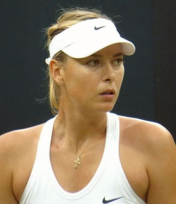 Bulgaria: Maria Sharapova Wins Her Opening Match at Bank of the West