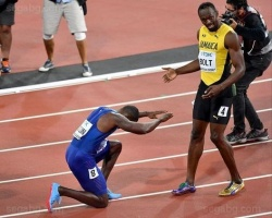 Bulgaria: Usain Bolt was Dethroned in his Last 100m Race