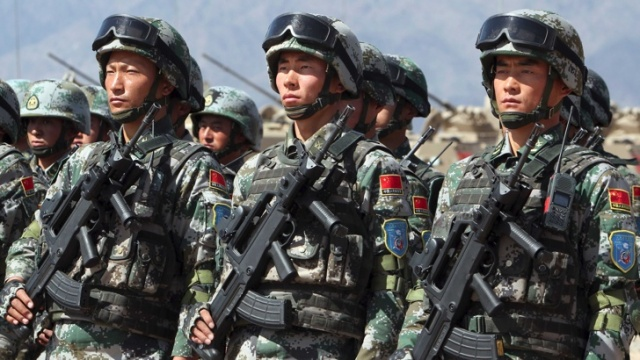 Chinese and Indian Military Clashed in the Himalayas