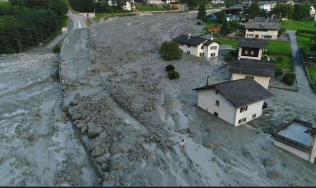 Bulgaria: Eight People are Missing after a Landslide in Switzerland