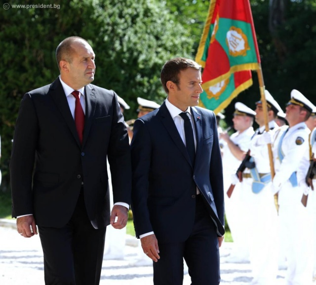 Bulgaria: Bulgarian President Expects French Support for Bulgaria's Efforts to Join the Schengen Area