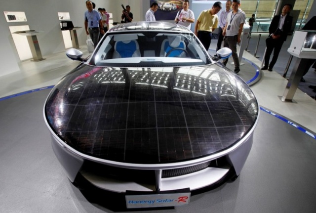 Audi developing solar-cell sunroofs