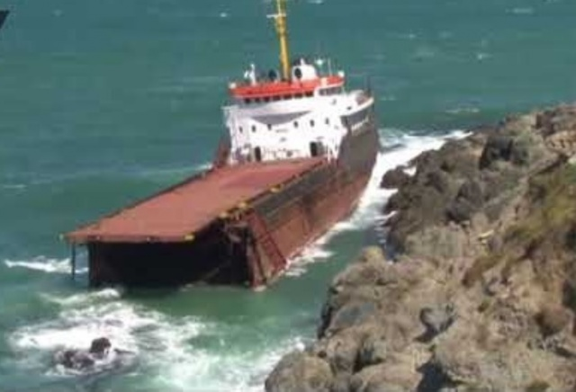 Bulgaria: A Cargo Ship Split in Two in the Black Sea