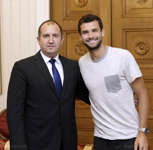 Bulgaria: Tennis Star Grigor Dimitrov Visited President Radev