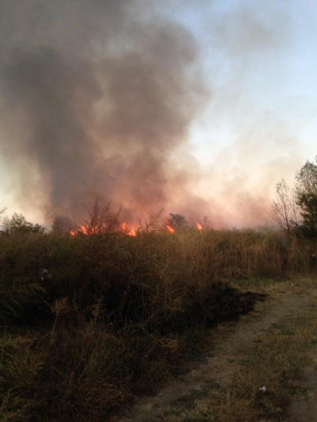 Bulgaria: Big Fire Broke Out Meters From TETS ''North'' Near Plovdiv