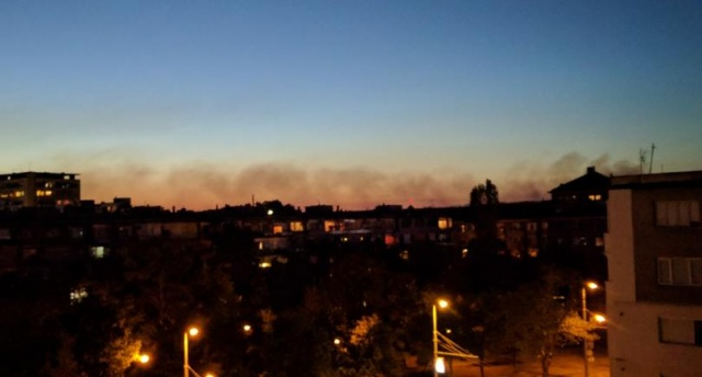 Bulgaria: The Fire Near the North Power Plant in Plovdiv is Located