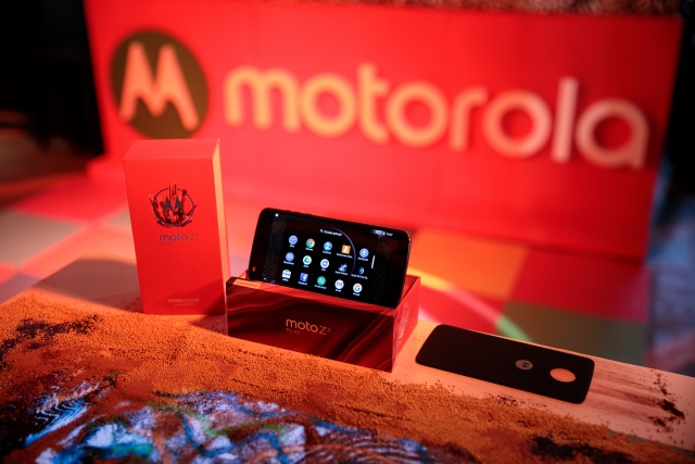 Bulgaria: Motorola Introduced Moto Z2 Play for Southeast Europe