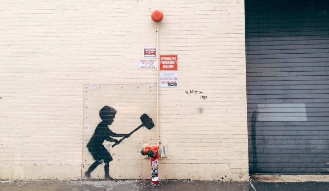 Banksy confirms two new artworks outside Barbican centre are his