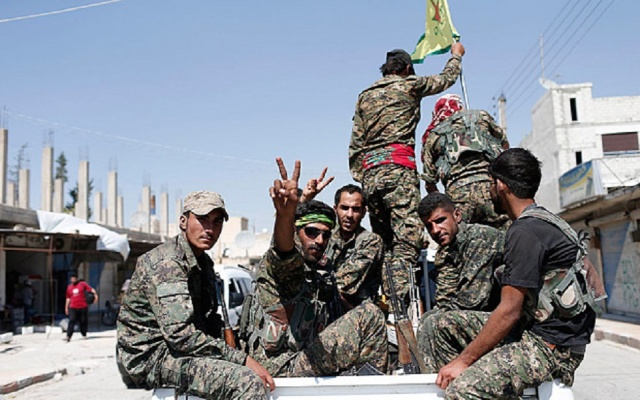 Backed forces take 90% of IS stronghold Raqqa - monitor