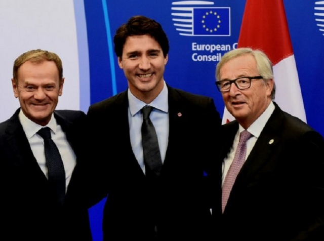 Today The Trade Agreement Ceta Between Canada And Eu Comes Into
