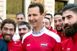 Bulgaria: Bashar Assad Welcomed the National Football Team at his Palace in Damascus