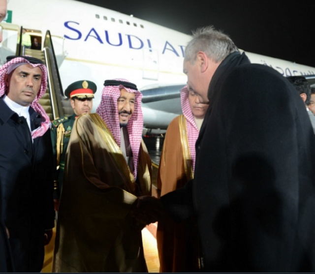 Bulgaria: The King of Saudi Arabia has Arrived in Moscow