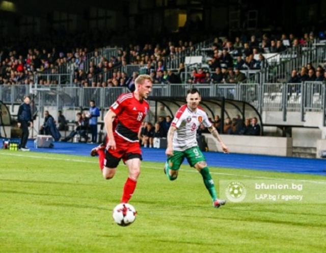 Bulgaria: Bulgarian National Football Team Ended the WC Qualifications with a Draw in Luxembourg