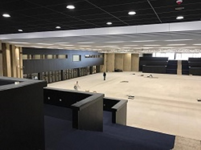 Bulgaria: Minister of Culture Boil Banov Inspected the Repairs in the National Palace of Culture