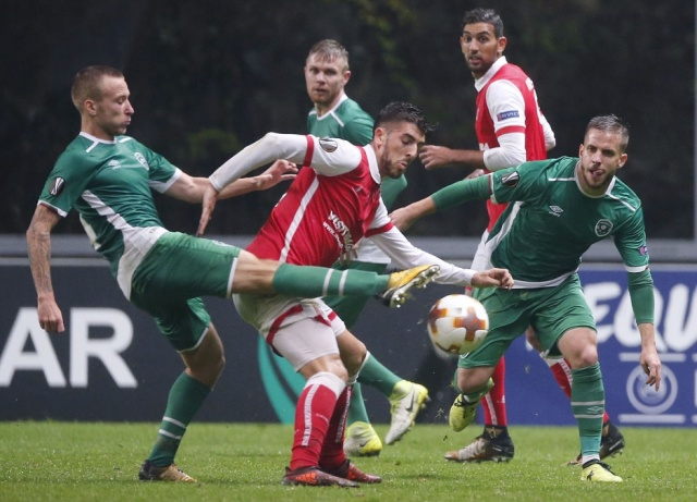 Bulgaria: Ludogorets Defeated Sporting Braga with 2:0 and is Leader in Group C of Europa League