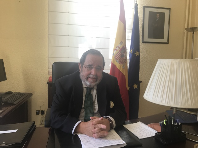 Bulgaria: Spanish Ambassador to Bulgaria D. Francisco Javier PÉREZ-GRIFFO Y DE VIDES: Spain support  Bulgaria's accession to Schengen area