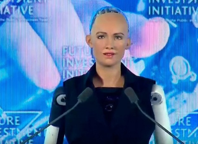 Bulgaria: Robot Obtain Citizenship in Saudi Arabia