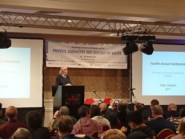 Bulgaria: Conference on the Physics, Chemistry and Biology of Water