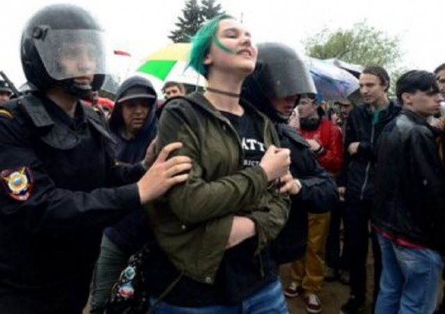 Bulgaria: Moscow Police Detained 263 Demonstrators Against Putin