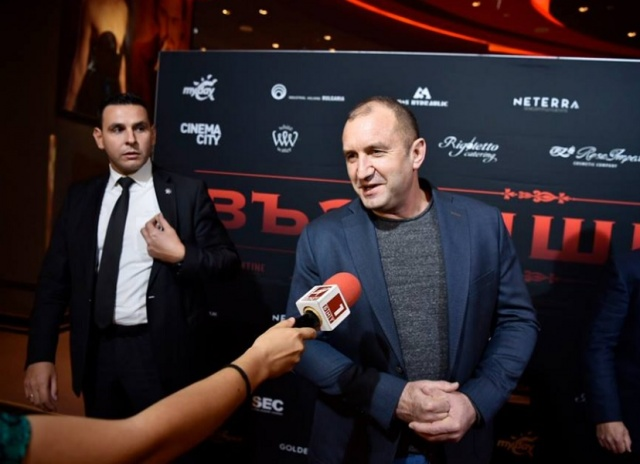 """Bulgaria: The President and the First Lady Attended the Premiere of the Bulgarian Film """"Ascension"""""""