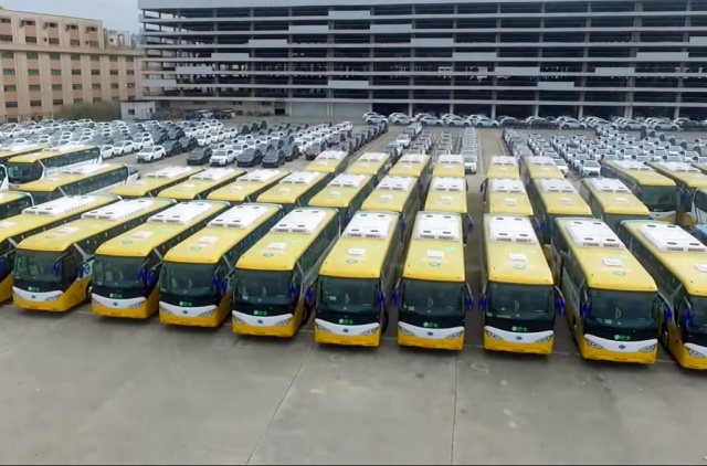 Bulgaria: 100% Electric Bus Fleet For Shenzhen (Population 11.9 Million) By End Of 2017 (Video)