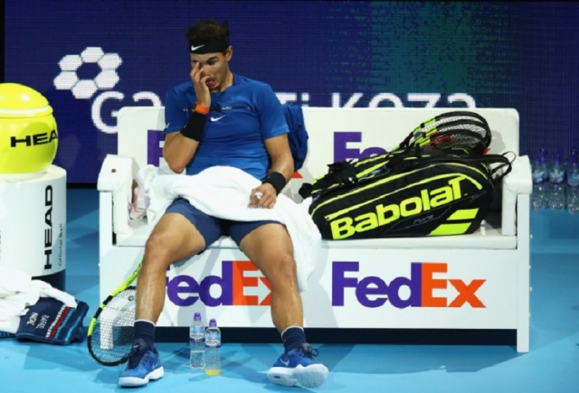 Bulgaria: Rafael Nadal Dropped out of the London Tournament