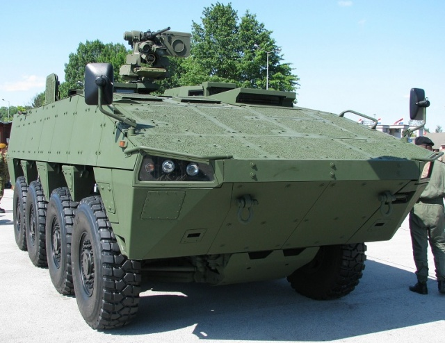 Bulgaria: Patria Presents its Proposal for Local Production of a New Armored Vehicle to the Parliamentary Defense Committee