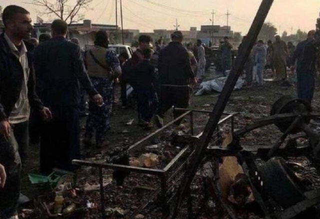 Bulgaria: A Terrorist Attack in an Iraqi City has taken Dozens of Lives