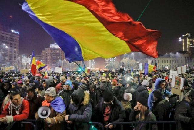 Bulgaria: Thousands Participated in an Anti-government Demonstration in Bucharest