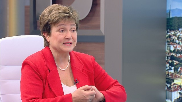 Bulgaria: Kristalina Georgieva: I Expect Bulgaria to Enter the Eurozone Waiting Room Next Year