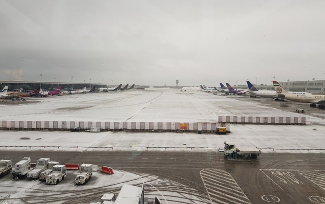 Bulgaria: The Airport in Brussels is Temporarily Shut Down Because of the Heavy Snowfall