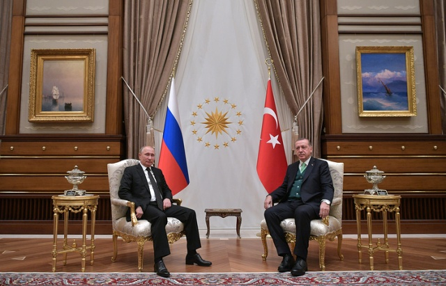 """Bulgaria: Putin Stopped by at his """"Friend"""" Erdogan on his Return from the Middle East"""