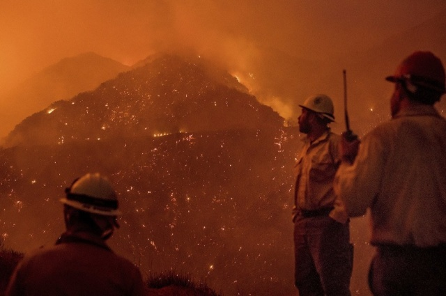 Bulgaria: The Big Fire in California is 50% Under Control