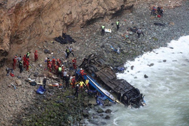 Bulgaria: Nearly 50 People Died in a Bus Crash in Peru