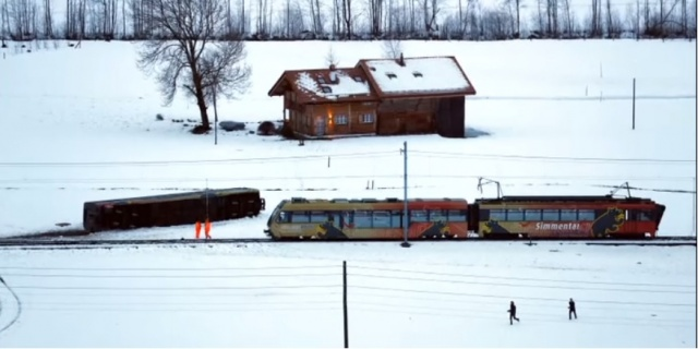 Bulgaria: 8 People Injured After Wind Blows a Train Carriage off the Rails in Switzerland (Video)