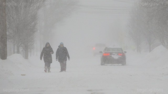 Bulgaria: The US Snowstorm Took 17 Victims